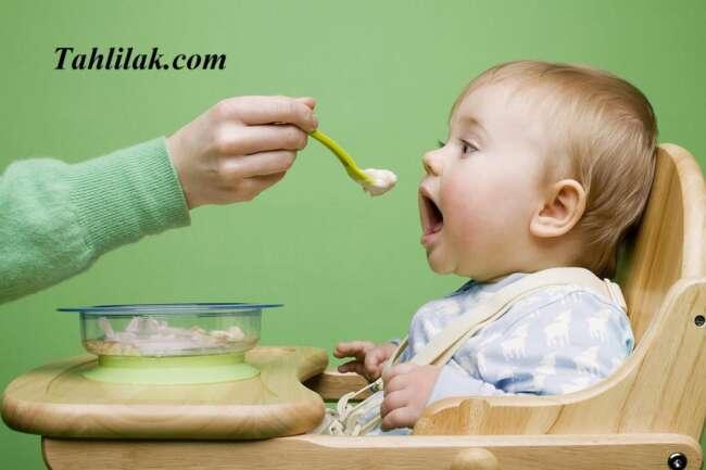 برنامه غذایی کودک تا یک سال
