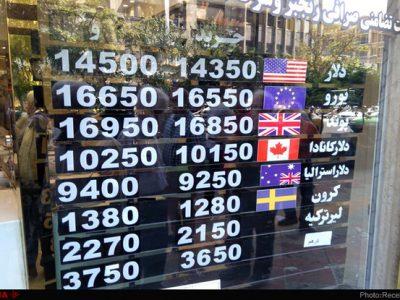 نرخ ارز و دلار