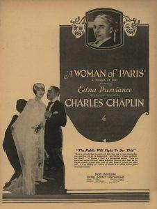 زنی از پاریس چاپلین