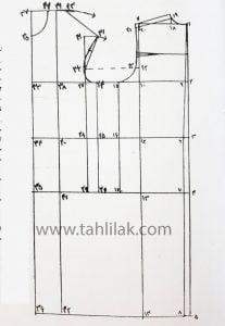 الگو روش مولر - آموزش خیاطی