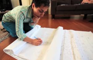 Maryam Mirzakhani doodle aug 2014 03 e1408246269295 300x195 - زندگینامه مریم میرزاخانی نابغه ریاضی جهان