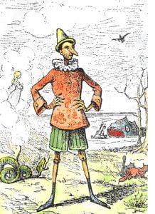 Pinocchio 218x300 - زندگینامه کارلو کلودی نویسنده مشهور ایتالیایی و خالق پینوکیو