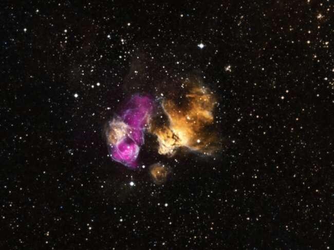 انفجار ستاره ها