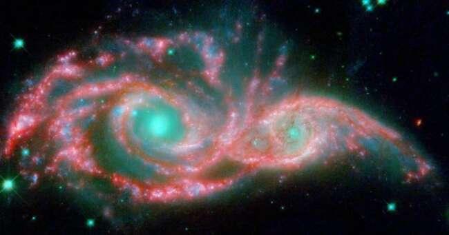تصادف کهکشان ها