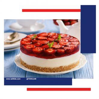 دسر کیک ژله