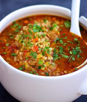 پخت سوپ جو