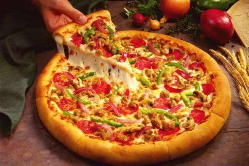 خمیر جادویی پیتزا