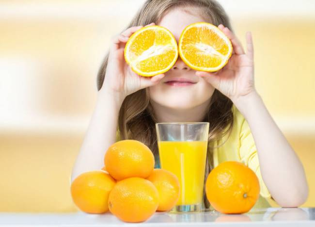 مصرف ویتامین در کودکان
