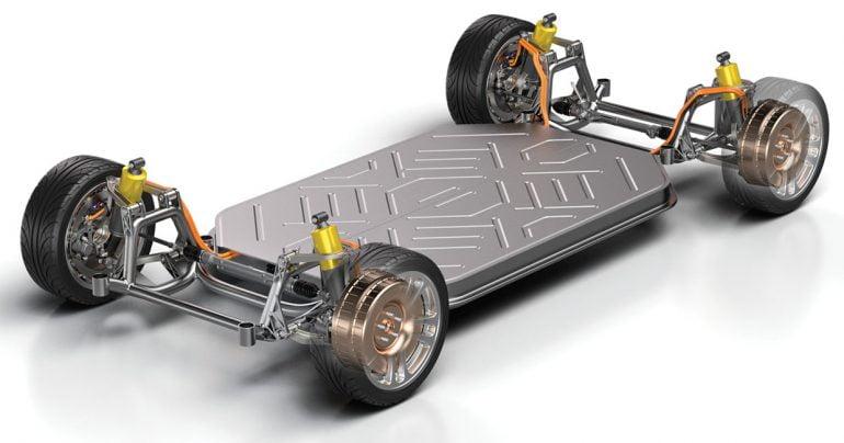 موتور مستقیم خودروی برقی
