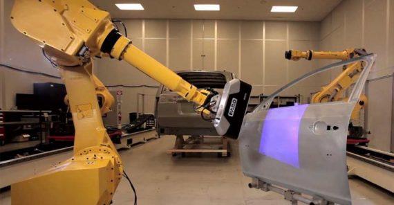 ربات با بینایی ماین و هوشش مصنوعی