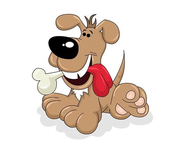 قصه کودکانه سگ ولگرد و استخوان
