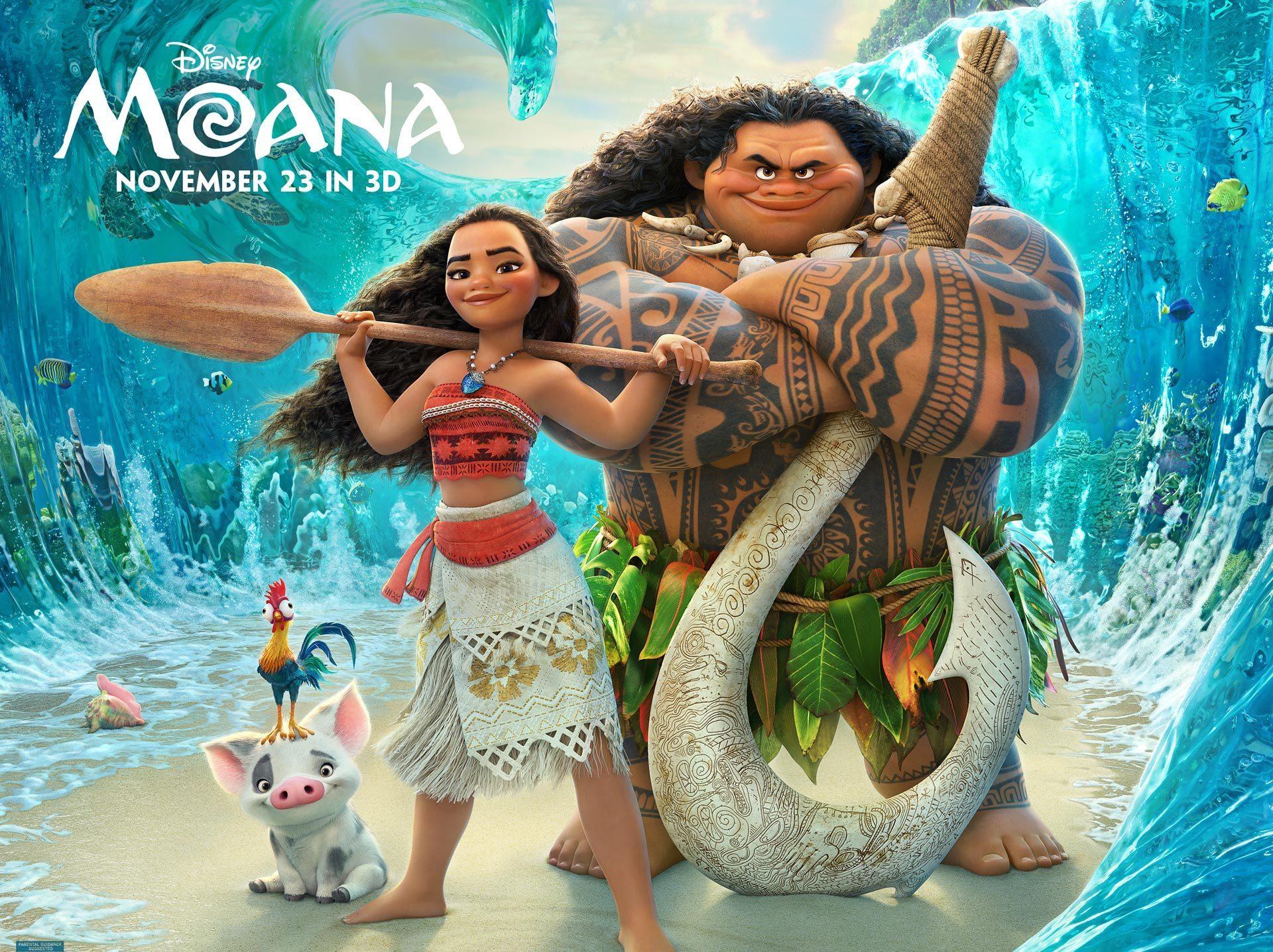 moana - معرفی انیمیشن موآنا - موانا