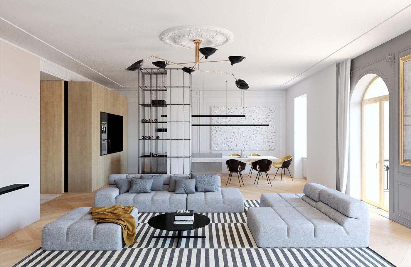 transitional era interior design