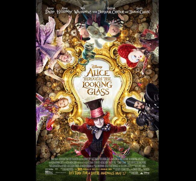 معرفی فیلم آلیس در سرزمین عجایب 2؛ آلیس آن سوی آینه ( Alice Through the Looking Glass )