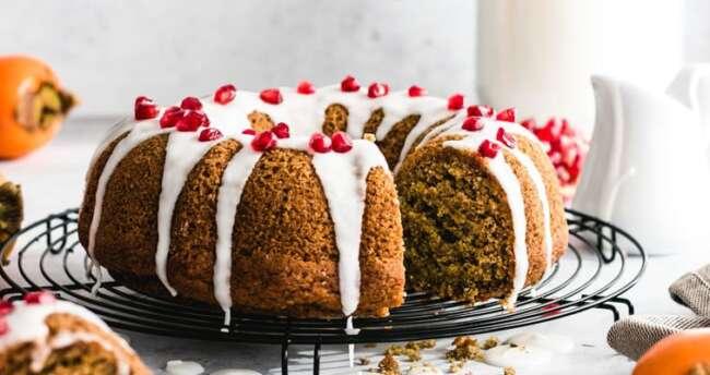 کیک خرمالو
