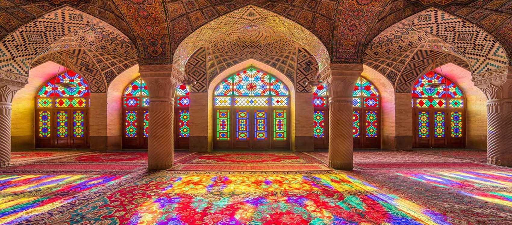 معرفی مسجد نصیرالملک شیراز