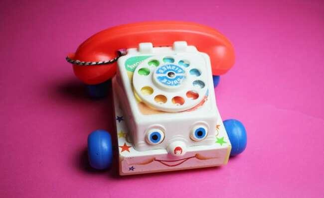 شعر کودکانه تا تلفن صدا کرد