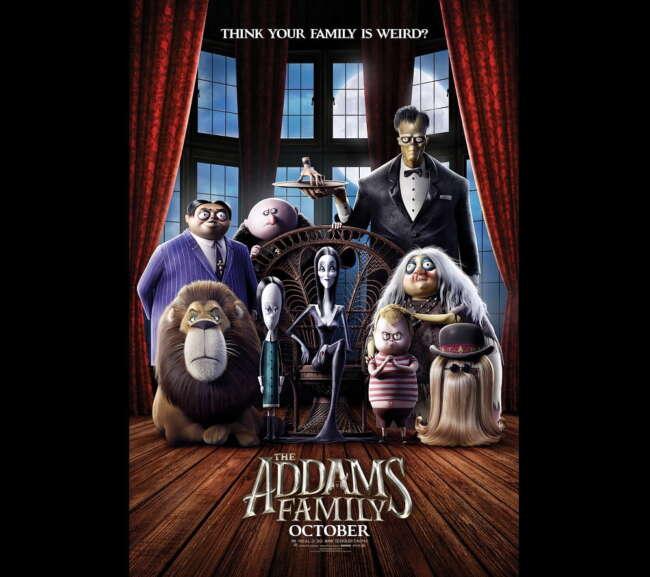 معرفی انیمیشن خانواده آدامز ( The Addams Family )