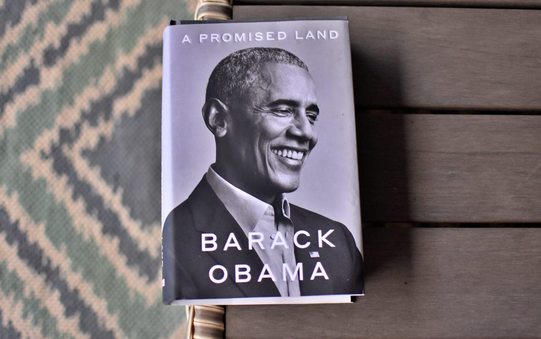 کتاب سرزمین موعود اثر باراک اوباما ( A Promised Land ) - پر فروش ترین کتاب های ۲۰۲۰