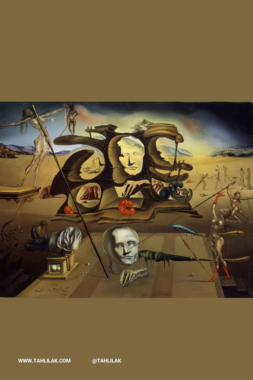 سالوادور دالی (Salvador Dali) هنرمند برجسته سبک سورئال