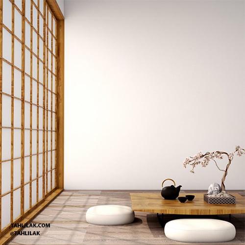 دکوراسیون مینیمال و سبک ژاپنی