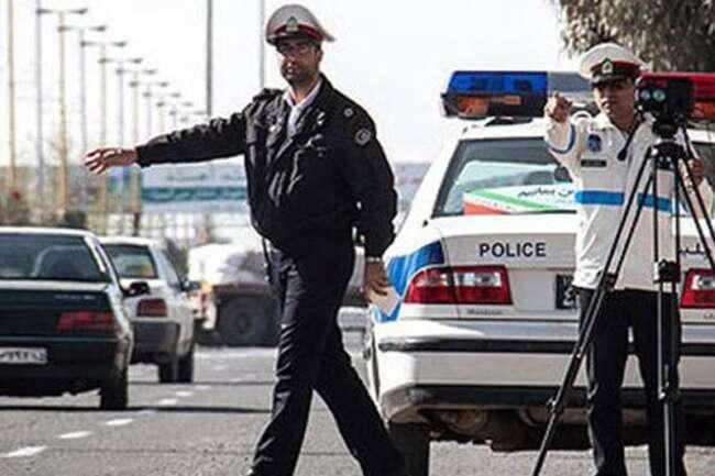 جریمه تخلف رانندگی