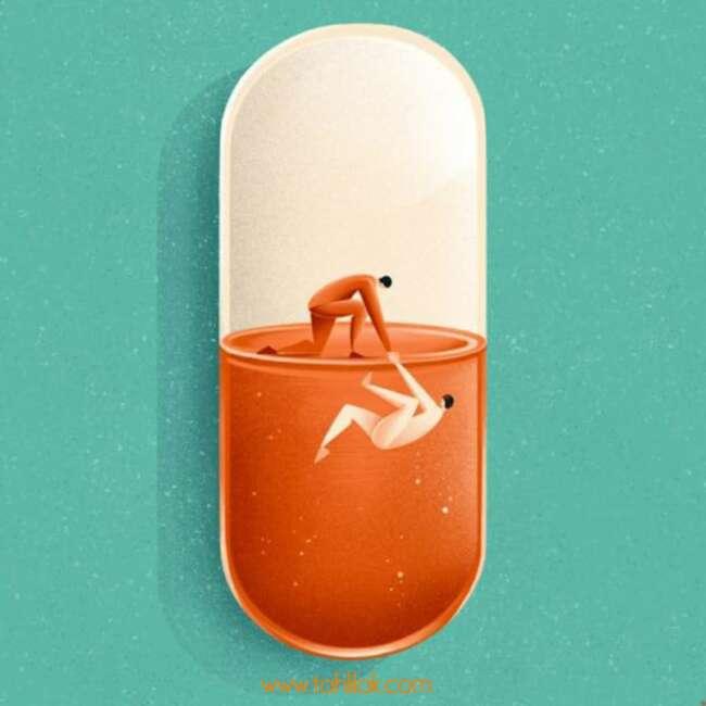 مصرف دارو و کاهش علائم بیماری