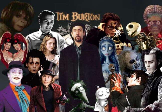 فیلم های تیم برتون