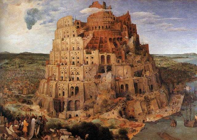 برج بابل پیتر بروگل
