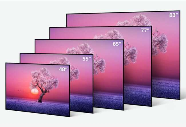 تلویزیون OLED LG - تلویزیون ال جی اولد C1