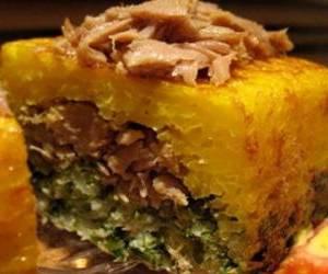 طرز تهیه ته چین سبزی پلو با کنسرو تن ماهی