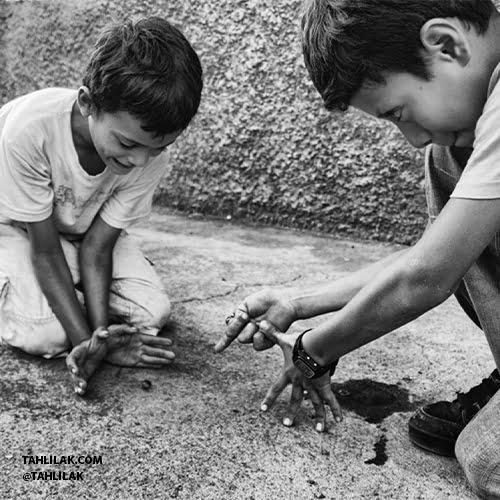 معرفی تیله بازی برای کودکان/ تیله بازی