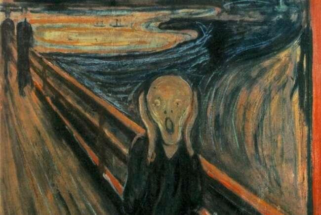 معروف ترین نقاشی های جهان «جیغ» ادوارد مونک
