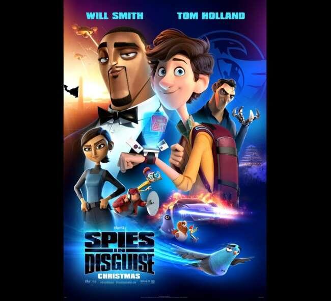 معرفی انیمیشن جاسوسان نامحسوس ( Spies in Disguise )