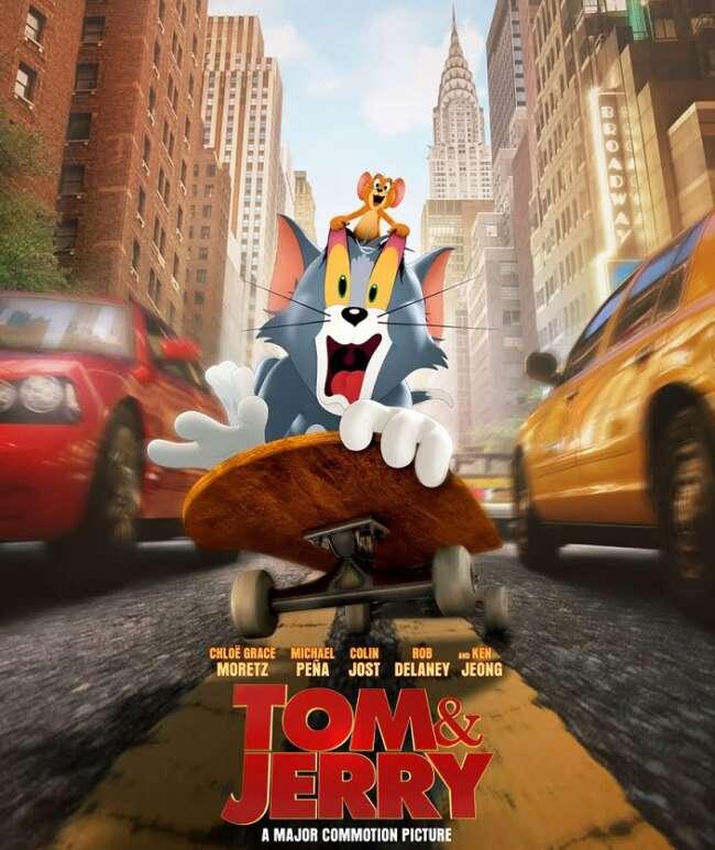 معرفی فیلم تام و جری 2021 ( Tom and Jerry )