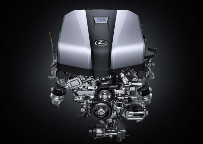 موتور لکسوس ال اس مدل 2021