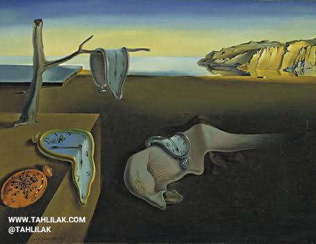 معروف ترین نقاشی های جهان «تداوم حافظه» سالوادور دالی