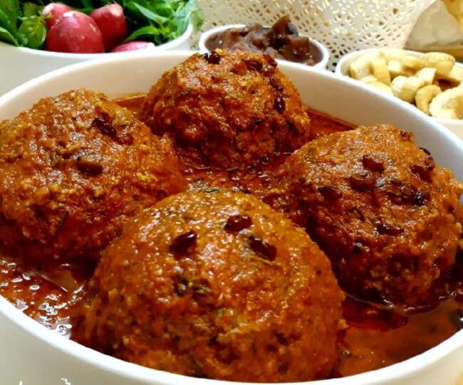 کوفته غذای شب عید - غذاهای شب عید نوروز در شهرهای مختلف ایران
