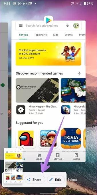 5 روش گرفتن اسکرین شات (Screenshot) در اندروید 11