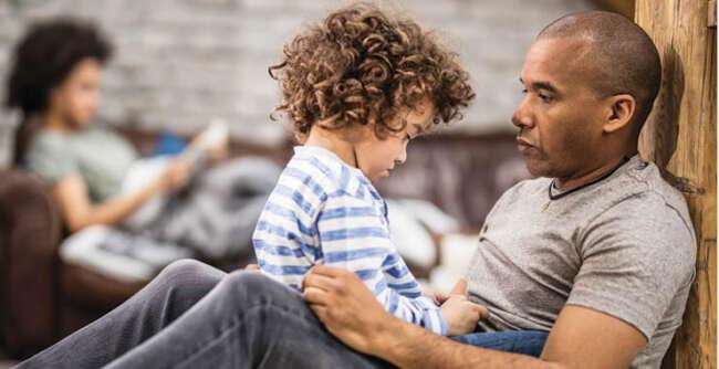 لحن قاطع والدین با کودک در صورت انجام اشتباه