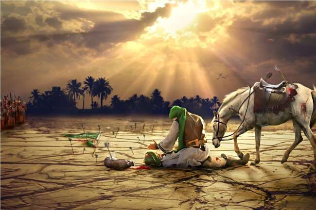 امام حسین - عاشورا و واقعه کربلا