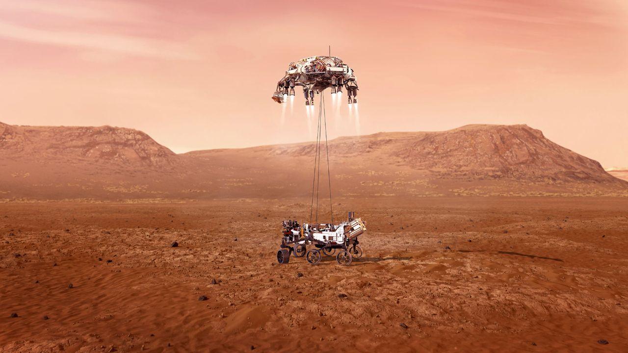 جدیدترین تصاویر مریخ
