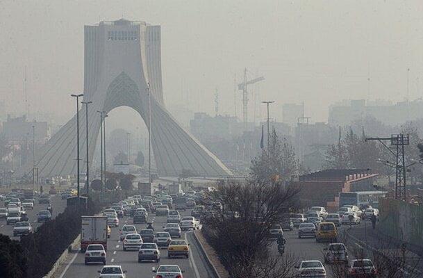 آلودگی هوای پایتخت برای سومین روز متوالی