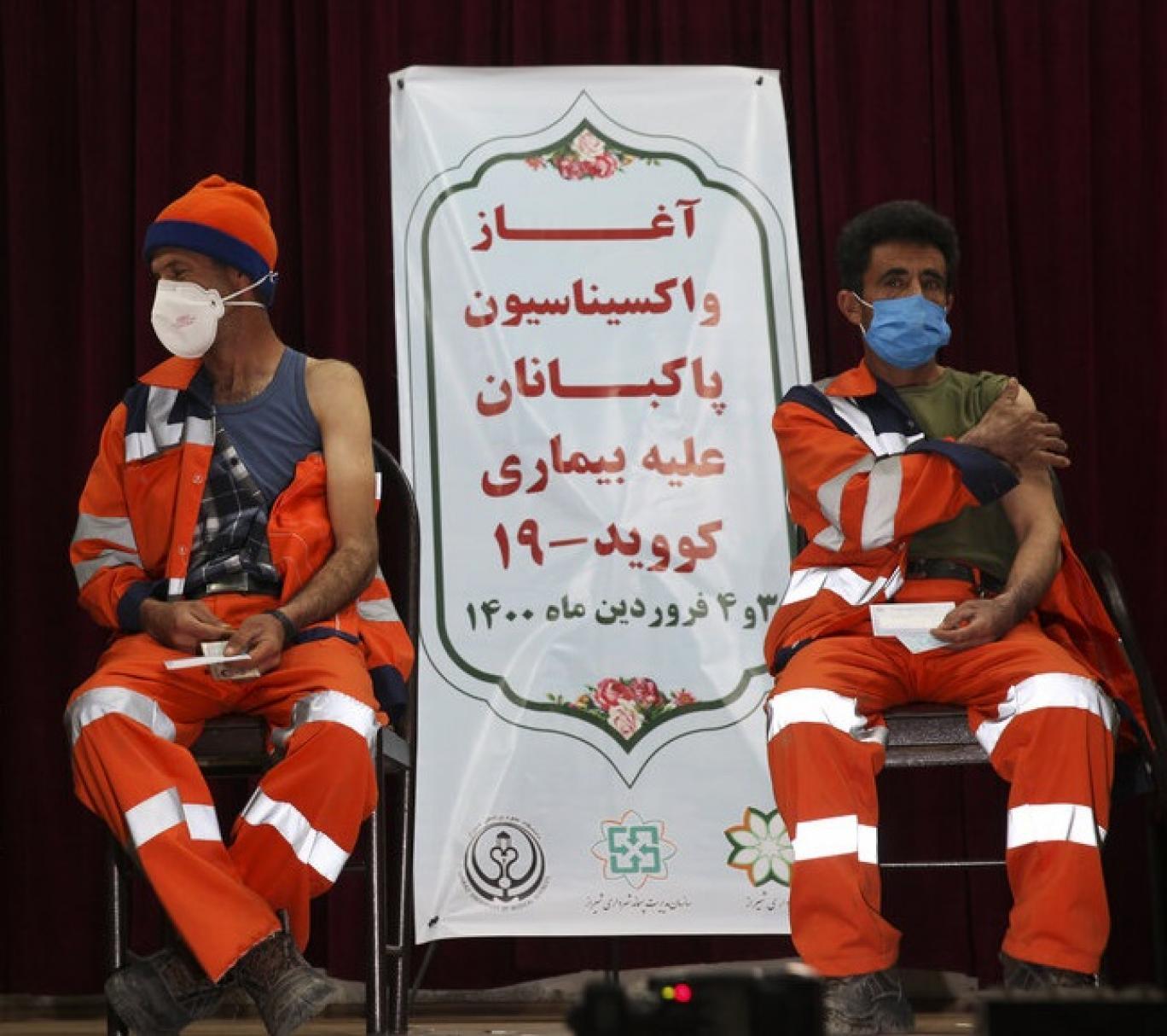 استفاده از سهمیه واکسن پاکبانان در علی آباد کتول