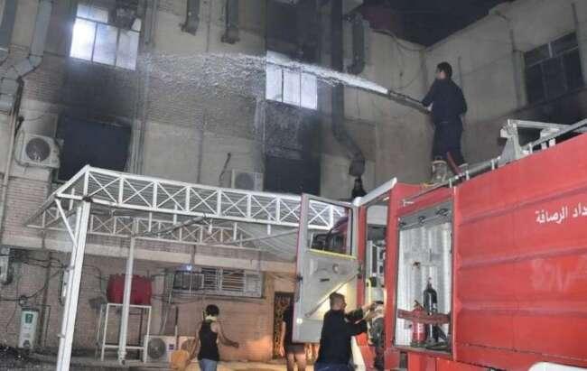 انفجار بیمارستان بغداد