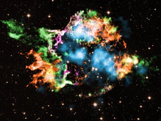انفجار ستارگان غول پیکر