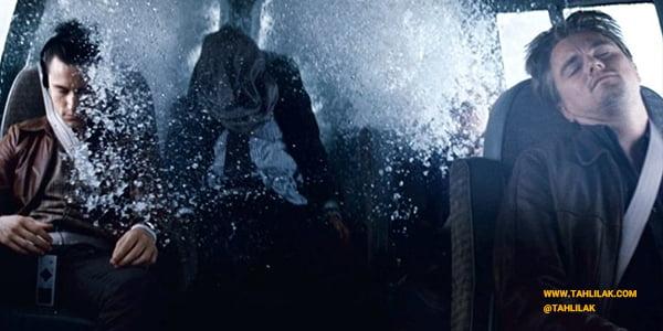 رنگ آبی و خاکستری در فیلم اینسپشن
