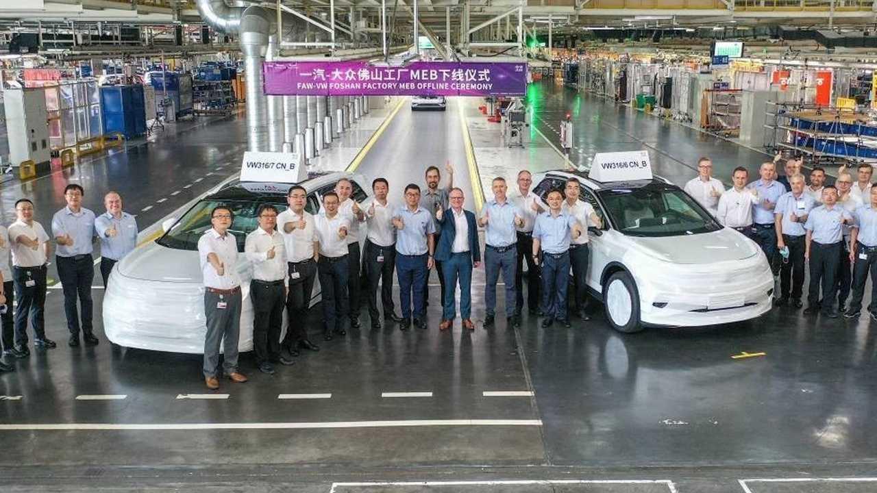 تولید فولکس واگن در چین