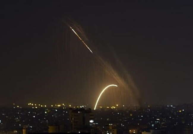 حمله جنگنده های صهیونیستی به دمشق