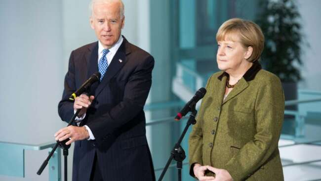 درخواست مشترک مرکل و بایدن از پوتین